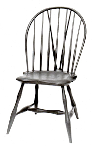 Windsor chair Bow back